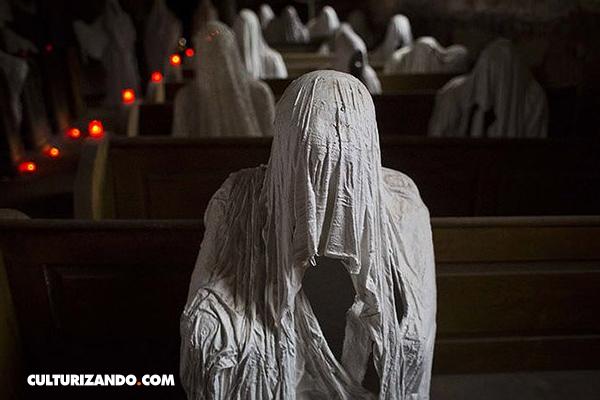 Los fantasmas que le dieron vida a una iglesia abandonada (+ fotos)