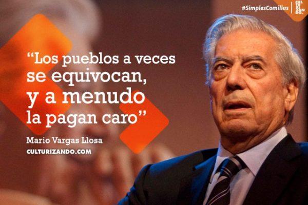 Lo mejor de Mario Vargas Llosa (+Frases)