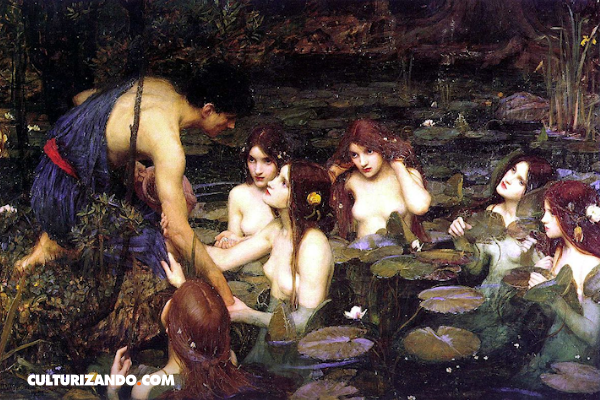 John William Waterhouse, el artista que pintaba leyendas mitológicas