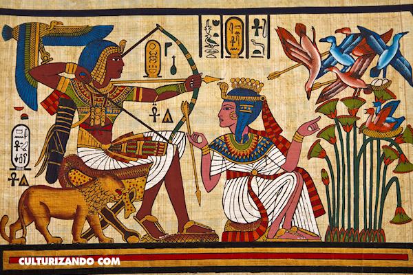 ¿Por qué los egipcios pintaban los cuerpos de perfil?