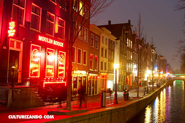 El increíble cambio del Barrio Rojo de Amsterdam