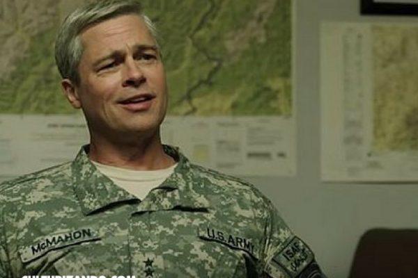 """Brad Pitt en el nuevo trailer de """"War Machine"""""""