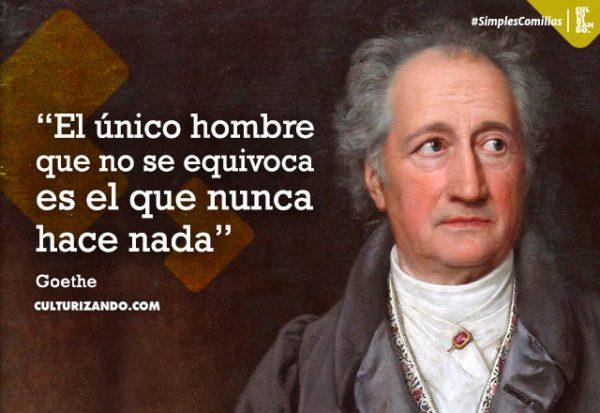 Grandes frases de Goethe