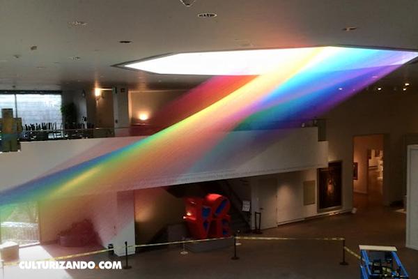 Conoce la increíble obra de Gabriel Dawe, el creador de arcoíris