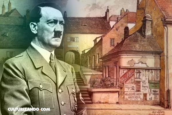 La frustrada vida artística de Adolf Hitler (+Obras)