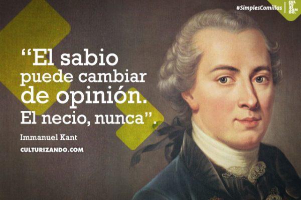 ¿Quién fue Immanuel Kant? (+Frases)
