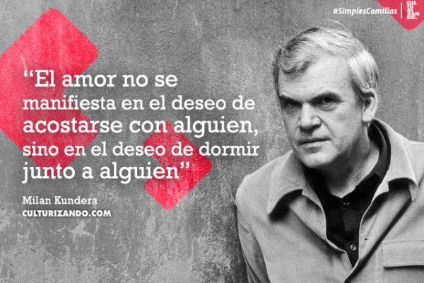 Lo mejor de Milan Kundera (+Frases)