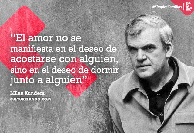 frases deMilan Kundera