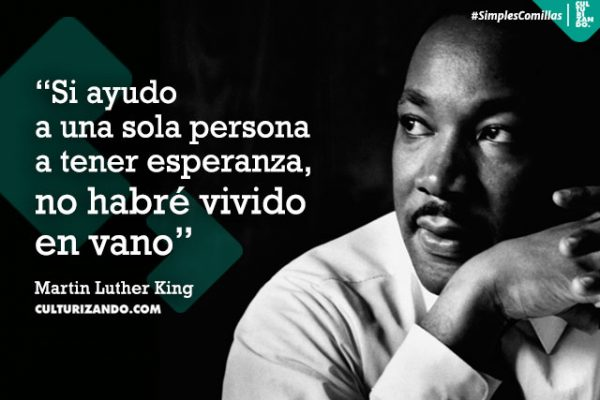 Frases De Martin Luther King Jr Culturizando Simples
