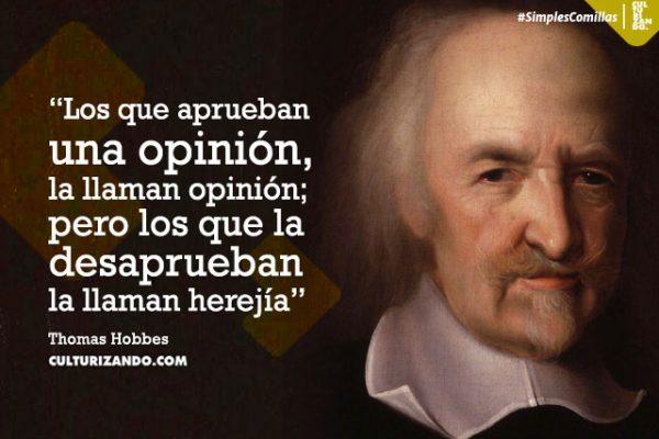 Lo mejor de Thomas Hobbes (+Frases)