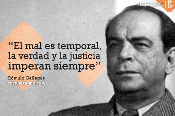 ¿Quién fue Rómulo Gallegos? (+Frases)