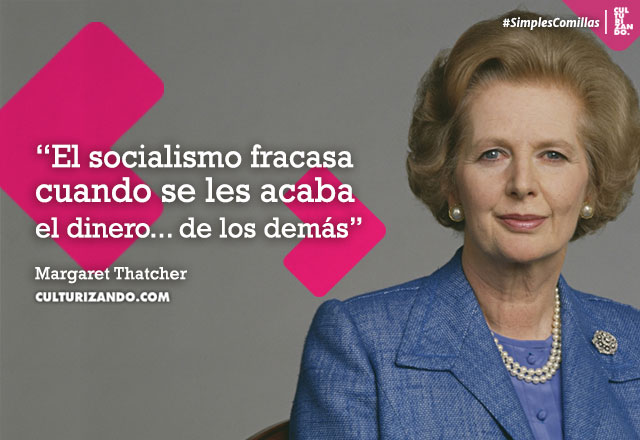 Frases Margaret Thatcher