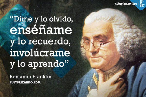 Benjamin Franklin Hombre De Letras Y De Ciencia Frases
