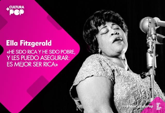 Ella Fitzgerald, La primera dama de la canción (+Video)