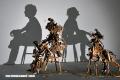Arte hecho con sombras y montañas de basura (+Fotos)