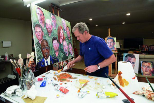 El ex presidente de EE.UU. que decidió convertirse en pintor (+Obras)