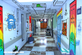 Caricaturas invaden las paredes de un hospital infantil (+Fotos)