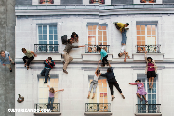 Las ilusiones ópticas de Leandro Erlich transforman las calles en un mundo surrealista