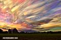 El fotógrafo que transforma las nubes en hermosas pinceladas (+Fotos)