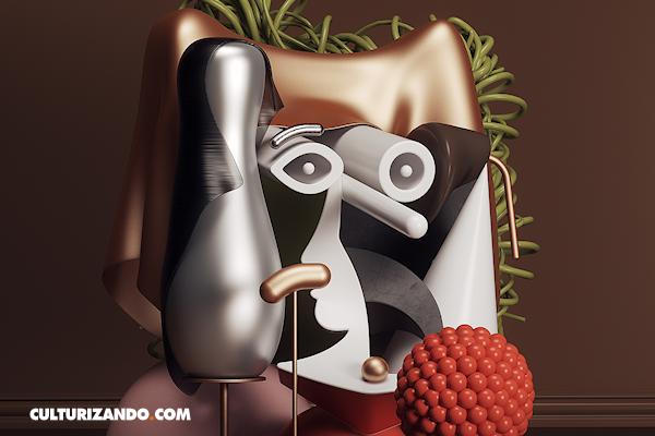Las pinturas de Pablo Picasso transformadas en esculturas