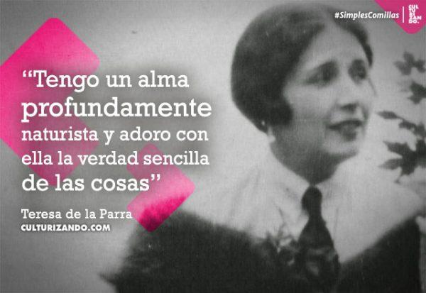 Cápsula Cultural: ¿Quién fue Teresa de la Parra?