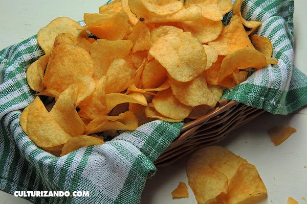 La Nota Curiosa: El origen de las papas chips