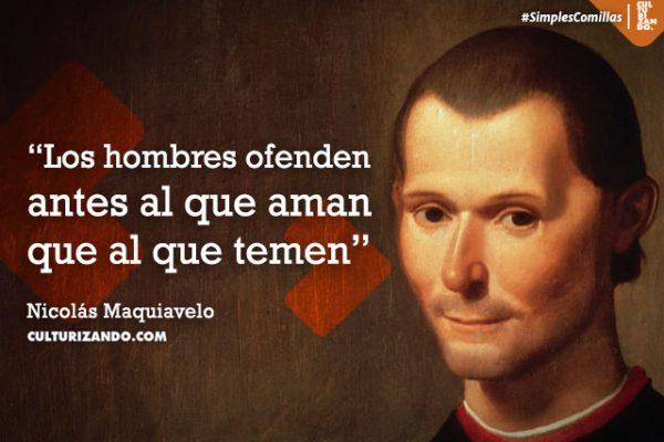 Lo mejor de Nicolás Maquiavelo (+Frases)
