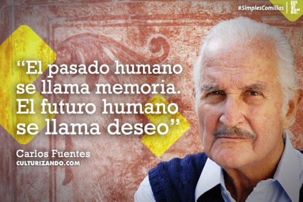 Carlos Fuentes en 10 grandes frases