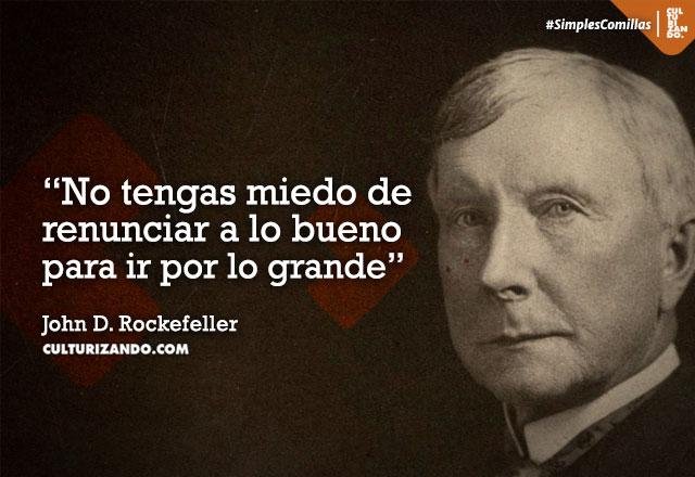 ¿Quién fue John D. Rockefeller?