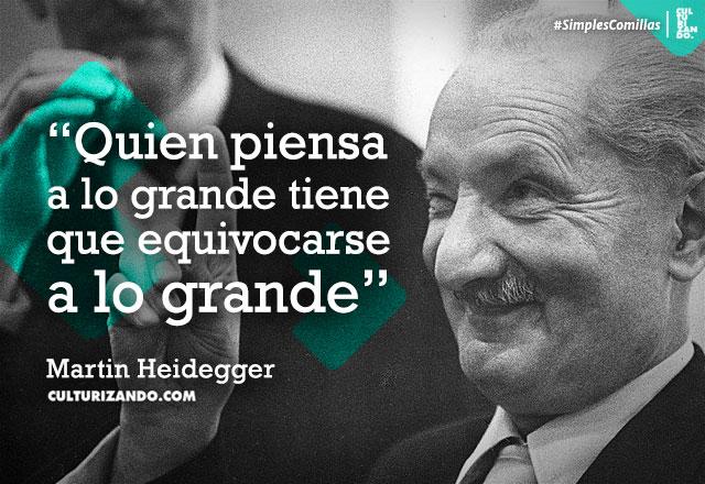 frases Martin Heidegger