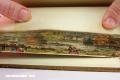 Los bordes de los libros convertidos en delicadas obras de arte (+Video)