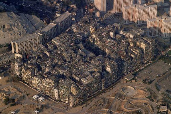 Un hormiguero humano, la claustrofóbica ciudad de Kowloon