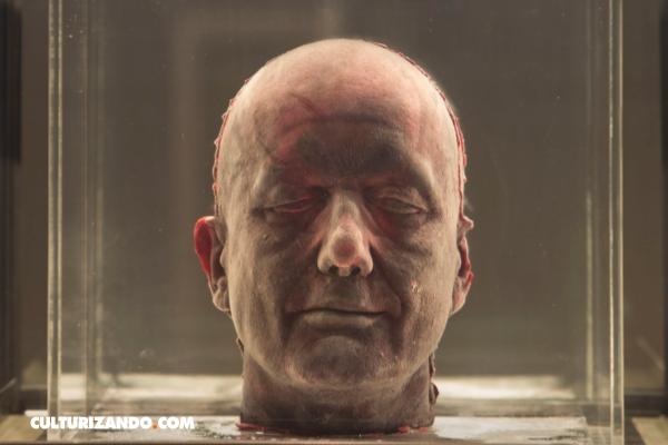 El artista que usa su sangre para crear obras de arte (+ Fotos)
