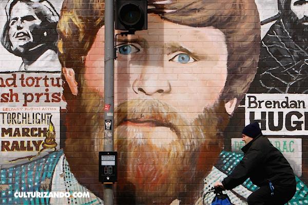 Los murales de Belfast, graffitis que cuentan la historia