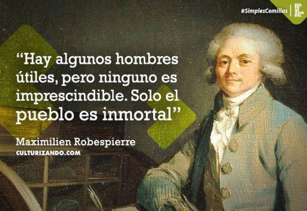 Los pensamientos de 'El Incorruptible' Robespierre