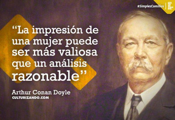 Arthur Conan Doyle, el padre de Sherlock Holmes (+Frases)