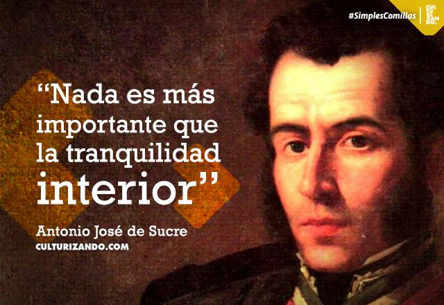 Antonio José De Sucre Culturizandocom Alimenta Tu Mente