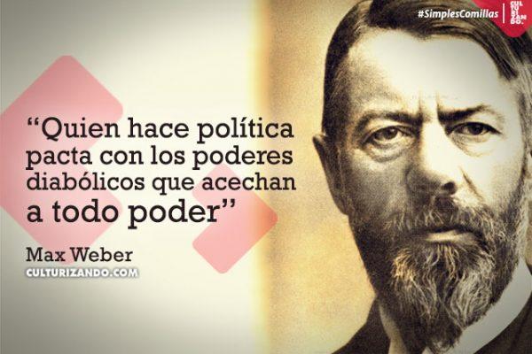 Max Weber en 10 grandes frases