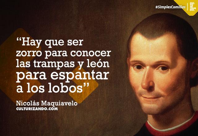 Frases de Nicolás Maquiavelo
