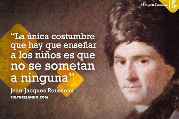 10 grandes frases de Jean-Jacques Rousseau