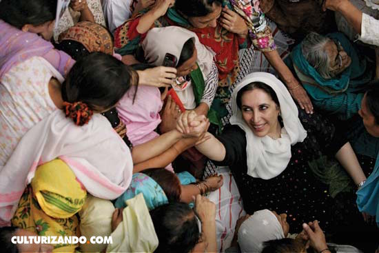 Benazir Bhutto, la primera mujer que gobernó un país musulmán
