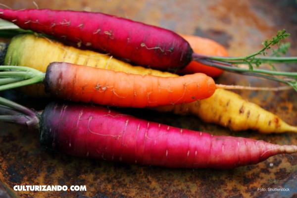 ¿Sabías que las zanahorias no siempre fueron color naranja?