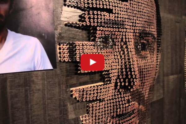 ¿Arte con tornillos? Andrew Myers lo hace posible (+Video)