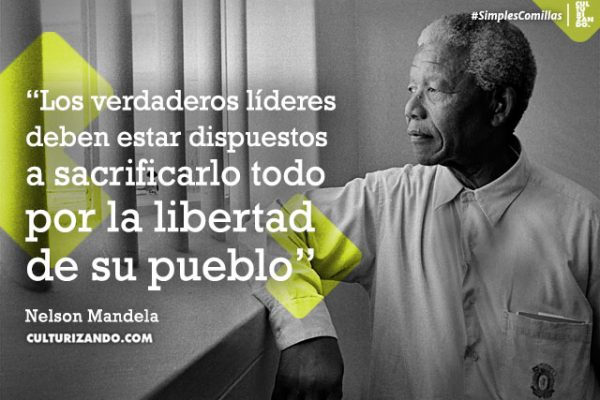 12 Grandes Frases De Nelson Mandela Culturizando Frases