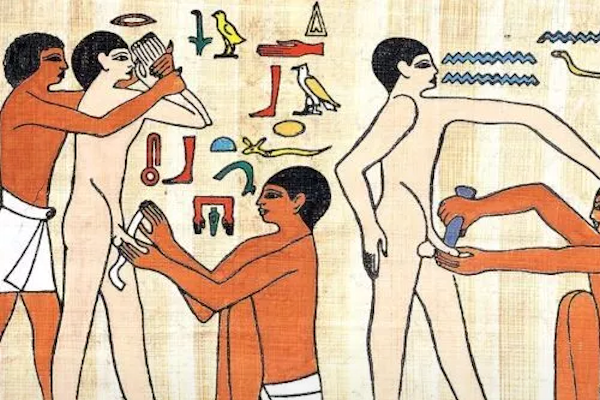 ¿Cuáles prácticas médicas actuales tienen su origen en el Antiguo Egipto?
