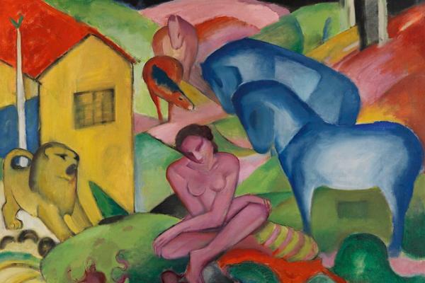«El jinete azul» un movimiento artístico que «no quería confundirse con el mundo»