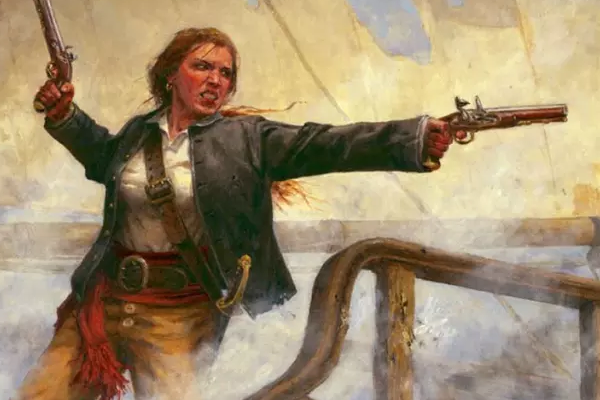 Mary Read y Anne Bonny, las dos piratas más famosas de la historia