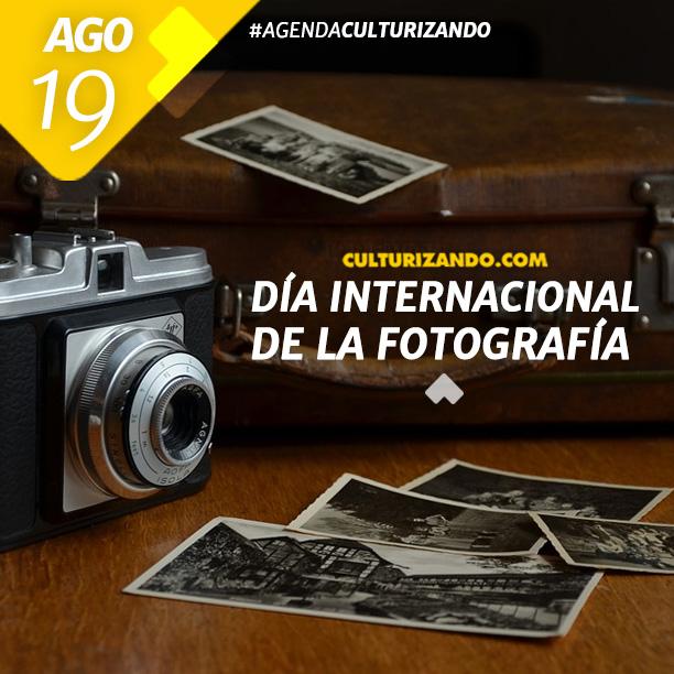 Día Internacional de la Fotografía.
