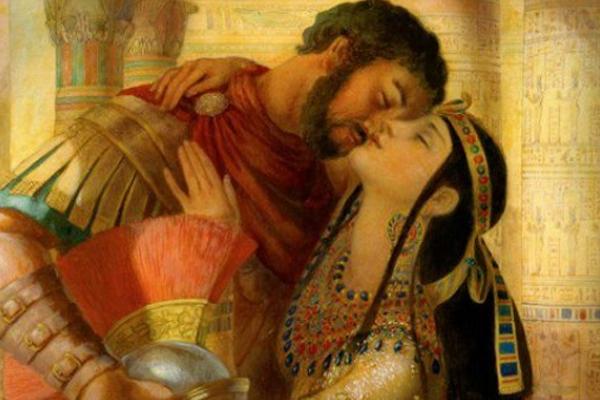 Los amantes de Cleopatra: Pasión, poder y tragedia