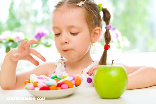 ¿Es posible que las frutas tengan la misma cantidad de azúcar que los caramelos?